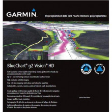 Garmin BlueChart g2 Vision HD Mediterranean Sea - Central-West
