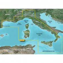 BlueChart g2 Vision HD Mediterranean Sea - Central-West