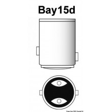 Lampadina Led Bay15D - 2,5W