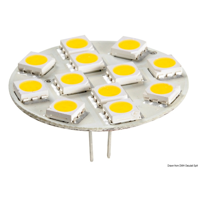 Lampadina led smd g4 2w attacco posteriore for Lampadine led g4