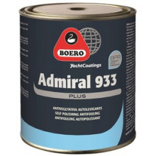 Admiral 933 Plus Antivegetativa Autolevigante Black 5 Lt